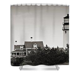 Highland Light At Cape Cod Shower Curtain