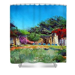 Highveld House Shower Curtain