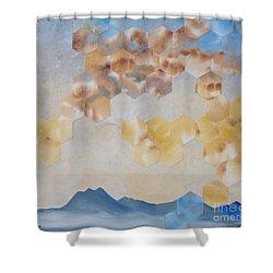Highway 86 Shower Curtain