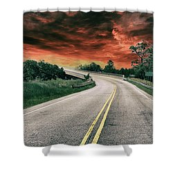 Highway Classic 2 Shower Curtain