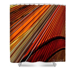 Highway To Sun Shower Curtain by Thibault Toussaint