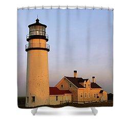 Higland Lighthouse Cape Cod Shower Curtain by Roupen  Baker