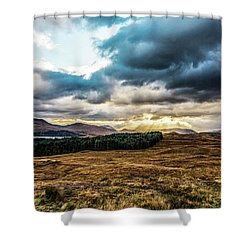 Shower Curtain featuring the photograph Higlands Wonders by Anthony Baatz