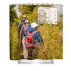 Hiking In The Highlands Shower Curtain