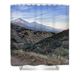 Hiking Johnson's Pasture Shower Curtain