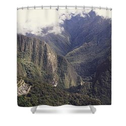 Journey To The Sun Gate Shower Curtain