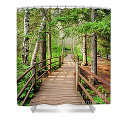 Hiking Trail Shower Curtain