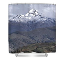 Cordillera Blanca Shower Curtain