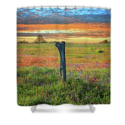 Hill Country Heaven Shower Curtain