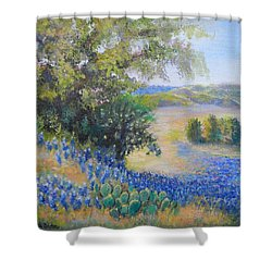 Hill Country View Shower Curtain