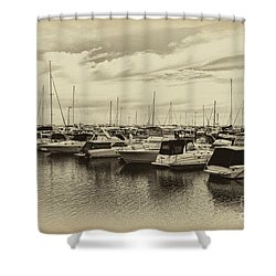 Hillarys Boat Harbour, Western Australia Shower Curtain