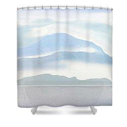 Hills In Borneo Shower Curtain