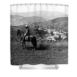 Hills Of Guanajuato - Mexico - C 1911 Shower Curtain by International  Images