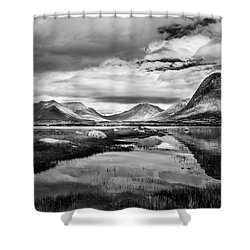 Shower Curtain featuring the photograph Hills Of Vesteralen by Dmytro Korol