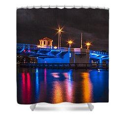 Hillsborough River Shower Curtain