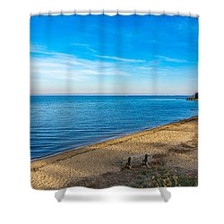 Hillsmere Beach On The Chesapeake Shower Curtain