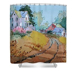 Hilltop Homestead Shower Curtain