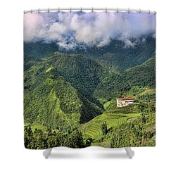 Hilltop Sapa Shower Curtain
