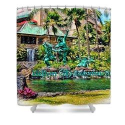 Hilton Hawaiian Village Waikiki Beach Resort Shower Curtain