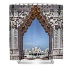 Hindu Architecture Shower Curtain