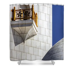 Hindu Temple Tower Shower Curtain by John Swartz