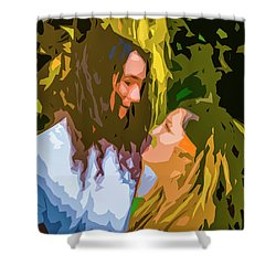 Hip Lovers Shower Curtain