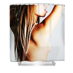Hiphop Club Shower Curtain by Robert WK Clark