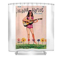 Hippie Harlot Shower Curtain