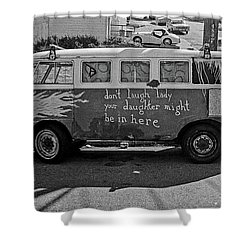Hippie Van, San Francisco 1970's Shower Curtain