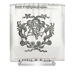 Hippocratic Corpus Shower Curtain by Science Source