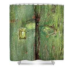 His And Hers Shower Curtain by Colleen Williams