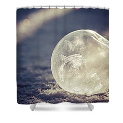 Shower Curtain featuring the photograph His Heart Was Always Warm by Yvette Van Teeffelen