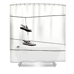 Shower Curtain featuring the photograph His by Linda Hollis