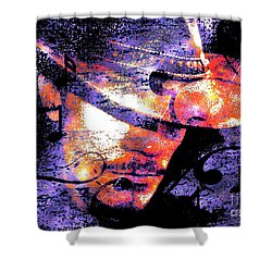 His Love Song  Shower Curtain