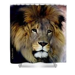 His Majesty The King Shower Curtain