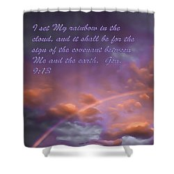 His Promise Shower Curtain