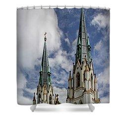 Historic Architecture Shower Curtain
