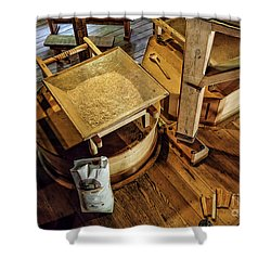 Historic Bale Mill Shower Curtain