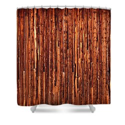 Historic Barnside Grand Tetons Shower Curtain