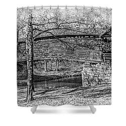 Historic Bridge Shower Curtain