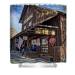 Historic Butte Creek Mill Shower Curtain by Mick Anderson