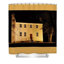 Historic Carter Mansion  Shower Curtain