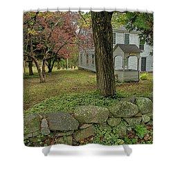 Historic Homestead Shower Curtain