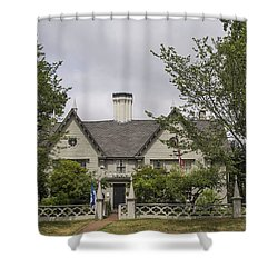 Historic House In Salem Shower Curtain