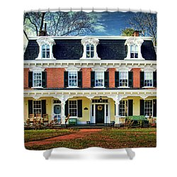 Historic Isaac Stover House  Shower Curtain