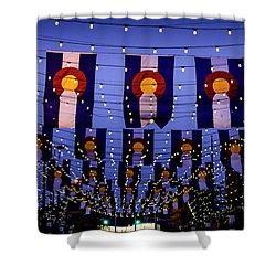 Historic Larimer Square Denver Shower Curtain