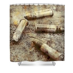 Shower Curtain featuring the photograph Historic Military Still by Jorgo Photography - Wall Art Gallery