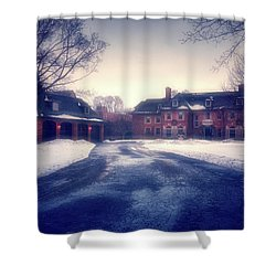 Shower Curtain featuring the photograph Historic Neenah Home by Joel Witmeyer