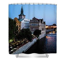 Historic Prague Shower Curtain