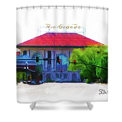 Historic Rio Grande Station Shower Curtain